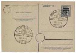 SBZ 1948 Mi-Nr. P31 SSt. Leipziger Herbstmesse