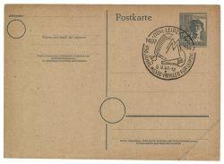 Gemeinschaftsausgaben 1947 Mi-Nr. P962 SSt. Leipzig 450 Jahre Messe-Privileg