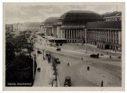 Gemeinschaftsausgaben 1947 Mi-Nr. 947 SSt. Leipzig 450 Jahre Messe-Privileg - Hauptbahnhof