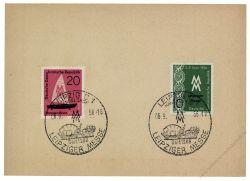 DDR 1956 Mi-Nr. 536-537 SSt. Leipziger Herbstmesse
