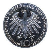 BRD 1988 J.444 10 DM Carl Zeiss vz-st