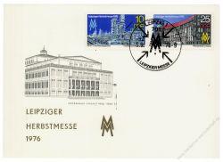DDR 1976 Mi-Nr. 2161-2162 SSt. Leipziger Herbstmesse