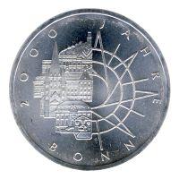 BRD 1989 J.447 10 DM 2000 Jahre Bonn vz-st