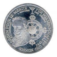 BRD 1992 J.454 10 DM Pour le Merite vz-st