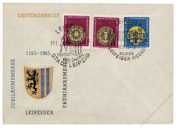 DDR 1965 Mi-Nr. 1090-1092 SSt. Leipziger Frühjahrsmesse