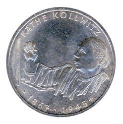 BRD 1992 J.453 10 DM Käthe Kollwitz vz-st