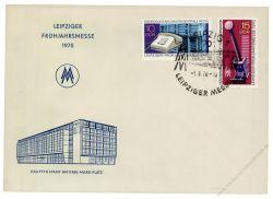 DDR 1970 Mi-Nr. 1551-1552 SSt. Leipziger Frühjahrsmesse