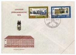 DDR 1973 Mi-Nr. 1832-1833 SSt. Leipziger Frühjahrsmesse