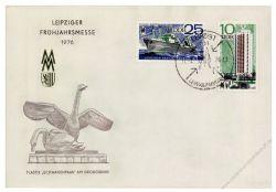DDR 1976 Mi-Nr. 2119-2120 SSt. Leipziger Frühjahrsmesse