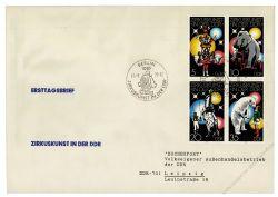 DDR 1978 FDC Mi-Nr. 2364-2367 (ZD) SSt. Zirkuskunst in der DDR
