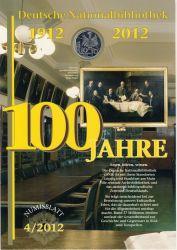 BRD 2012 Numisblatt 4/2012
