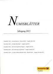 BRD 2013 Beschreibung für Numisblatt 1/2013