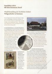 BRD 2014 Beschreibung für Numisblatt 4/2014 und 5/2014