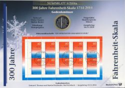 BRD 2014 Numisblatt 5/2014