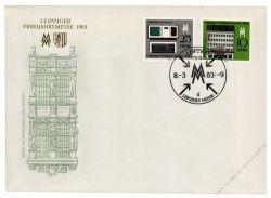 DDR 1983 FDC Mi-Nr. 2779-2780 SSt. Leipziger Frühjahrsmesse