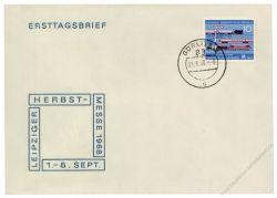 DDR 1968 FDC Mi-Nr. 1399 ESt. Leipziger Herbstmesse