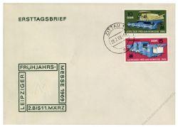 DDR 1969 FDC Mi-Nr. 1448-1449 ESt. Leipziger Frühjahrsmesse
