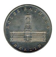 DDR 1987 J.1614 5 Mark Rotes Rathaus Berlin vz-st