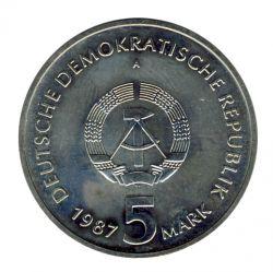DDR 1987 J.1615 5 Mark Alexanderplatz Berlin st