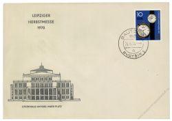 DDR 1970 FDC Mi-Nr. 1601 ESt. Leipziger Herbstmesse