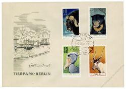 DDR 1970 FDC Mi-Nr. 1617-1620 ESt. Tierpark Berlin