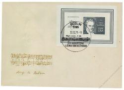 DDR 1970 FDC Mi-Nr. 1631 (Block 33) SSt. 200. Geburtstag von Ludwig van Beethoven