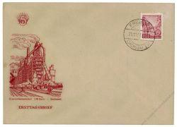 DDR 1953 FDC Mi-Nr. 371 ESt. Fünfjahrplan