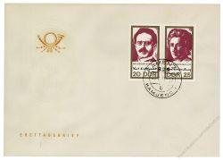 DDR 1971 FDC Mi-Nr. 1650-1651 (ZD) ESt. 100. Geburtstag von Rosa Luxemburg und Karl Liebknecht