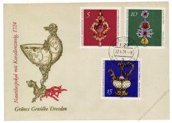 DDR 1971 FDC Mi-Nr. 1682-1687 ESt. Grünes Gewölbe Dresden