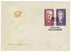 DDR 1972 FDC Mi-Nr. 1731-1735 SSt. Berühmte Persönlichkeiten