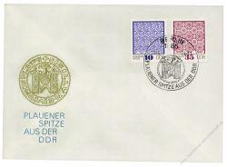 DDR 1974 FDC Mi-Nr. 1963-1966 SSt. Plauener Spitze