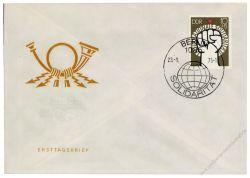 DDR 1975 FDC Mi-Nr. 2089 SSt. Internationale Solidarität
