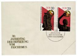 DDR 1975 FDC Mi-Nr. 2038-2041 SSt. 30. Jahrestag der Befreiung vom Faschismus