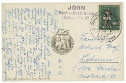 DDR 1959 Mi-Nr. 682 EF 200. Todestag von Georg Friedrich Händel