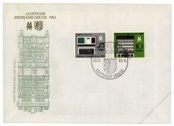 DDR 1983 FDC Mi-Nr. 2779-2780 - Mi-Nr. 2779 mit PF IV - SSt. Leipziger Frühjahrsmesse