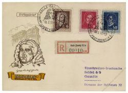 DDR 1952 FDC Mi-Nr. 308-310 SSt. Händelfest