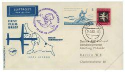DDR 1962 Erstflug Berlin-Heringsdorf - Mi-Nr. 610, 876