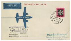 DDR 1958 Erstflug Karl Marx Stadt-Leipzig - Mi-Nr. 610 - DH54