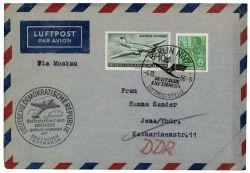 DDR 1956 Erstflug Berlin-Moskau - Mi-Nr. 406, 512