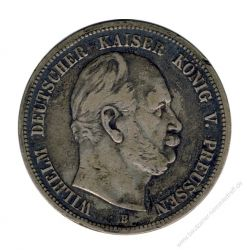 Preussen 1875 B J.97 5 Mark Wilhelm I. (1861-1888) ss