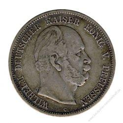 Preussen 1876 C J.97 5 Mark Wilhelm I. (1861-1888) ss