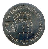 DDR 1975 J.1558 5 Mark Jahr der Frau st