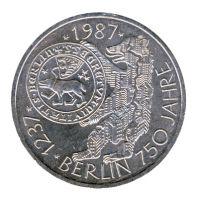 BRD 1987 J.441 10 DM 750 Jahre Berlin vz-st