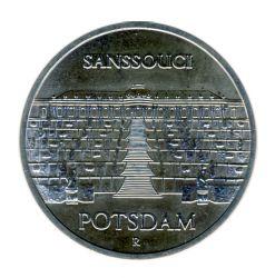 DDR 1986 J.1609 5 Mark Schloß Sanssouci Potsdam vz-st