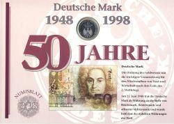 BRD 1998 Numisblatt 3/1998