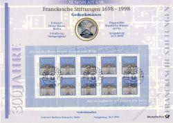 BRD 1998 Numisblatt 4/1998