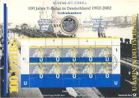 BRD 2002 Numisblatt 2/2002