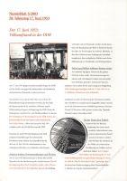 BRD 2003 Beschreibung für Numisblatt 3/2003 und 4/2003