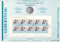 BRD 2001 Numisblatt 1/2001