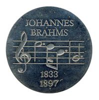 DDR 1972 J.1540 5 Mark Johannes Brahms st